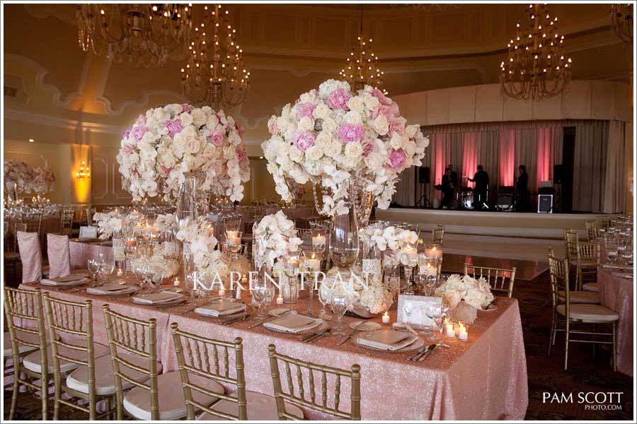 Brown And Gold Wedding Ideas: Vintage : Casamento Com Rosa, Dourado E Rendas
